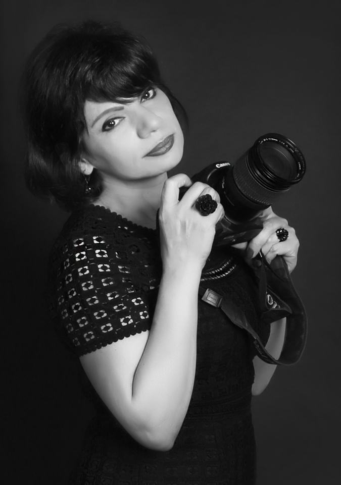 Afsaneh Afkhami dans son atelier, Copyright Olivier Guilbert,bis
